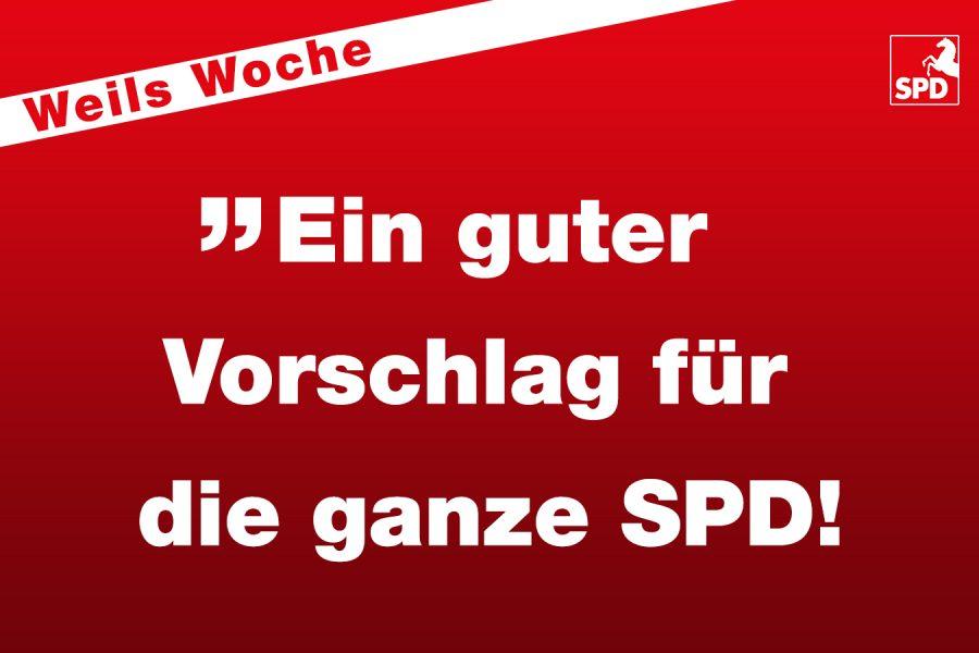 Weils Woche - SPD-Vorsitz